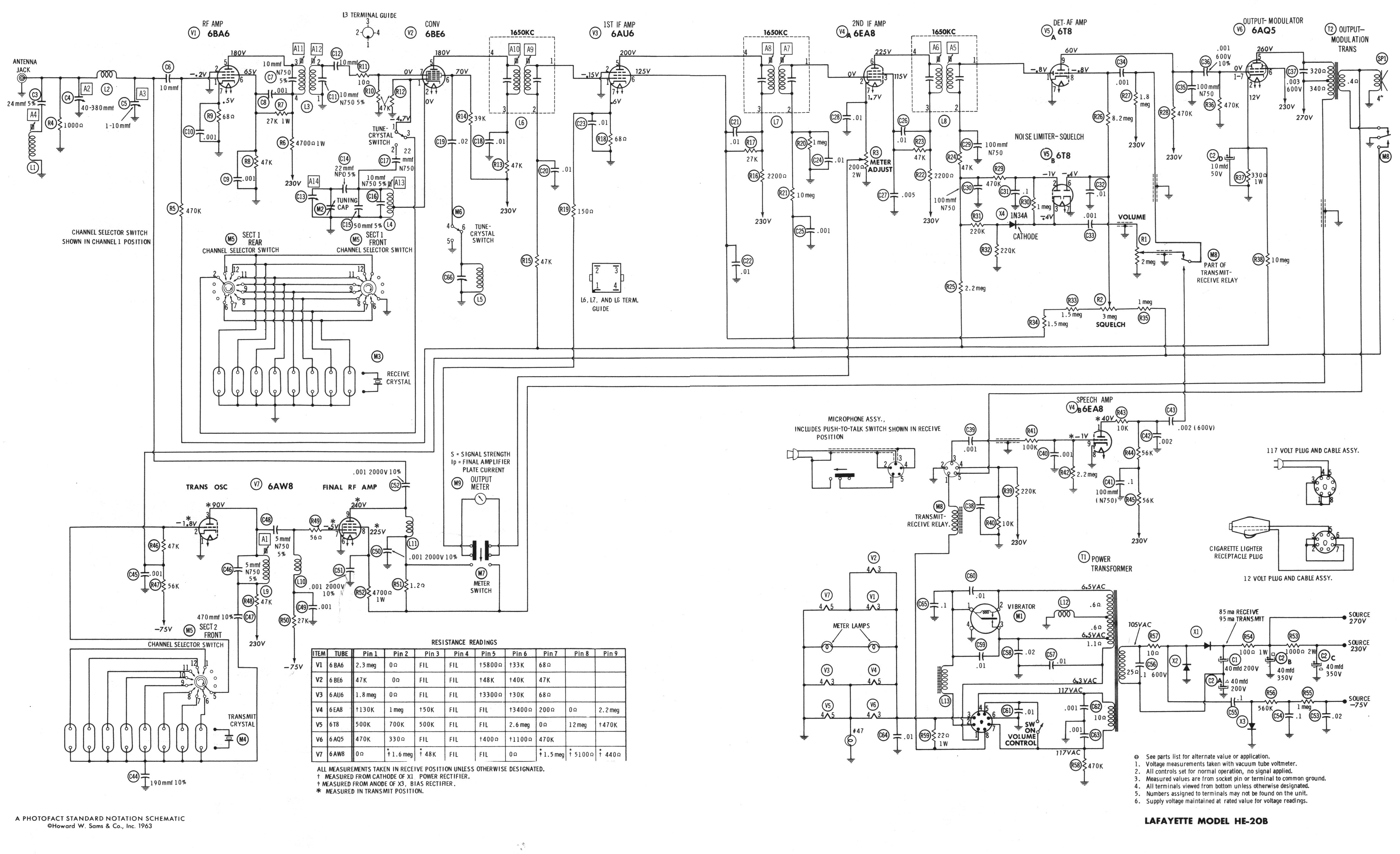 lafayette radio schematics lafayette free engine image for user manual