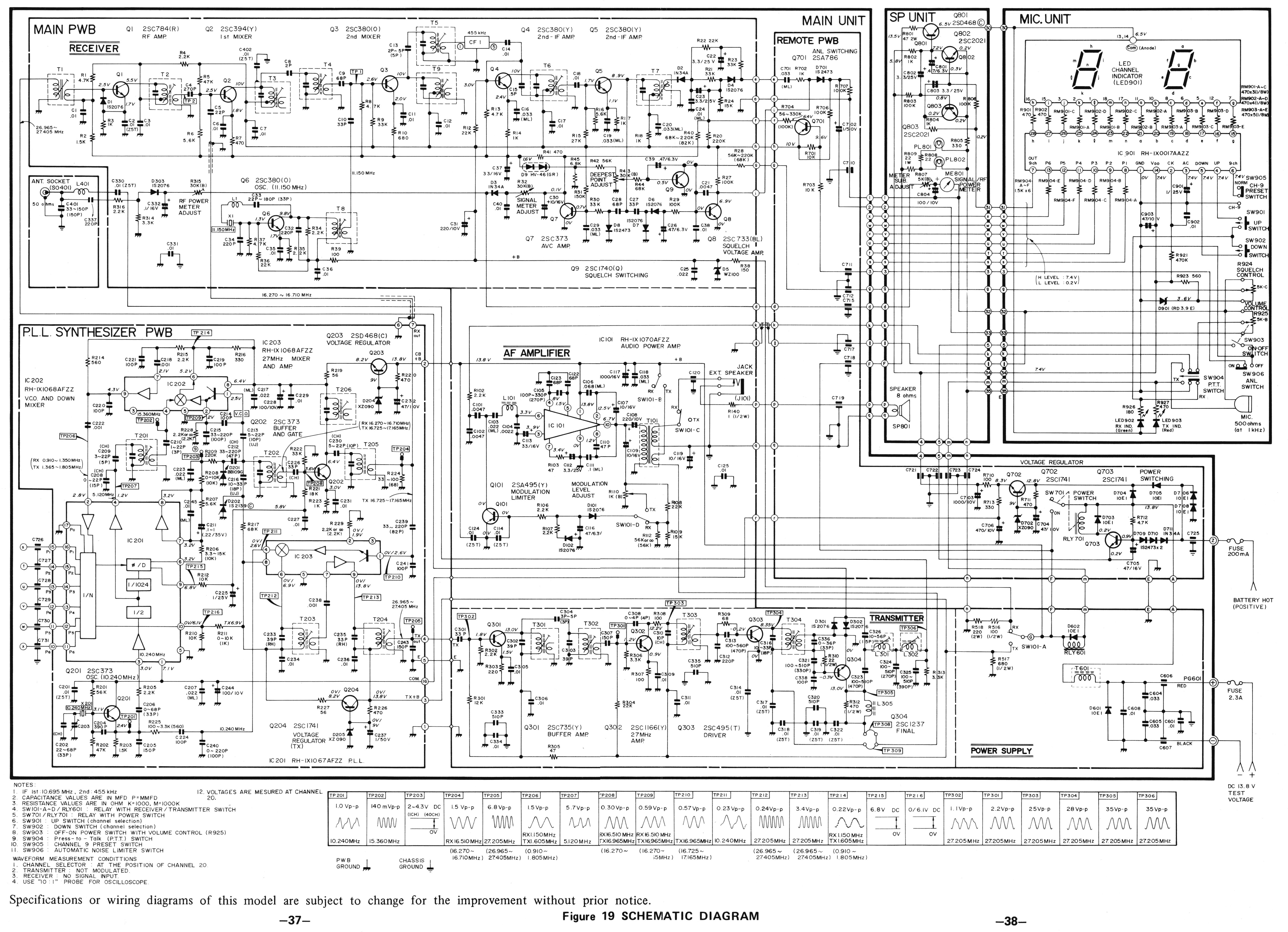 cb radio wiring diagrams